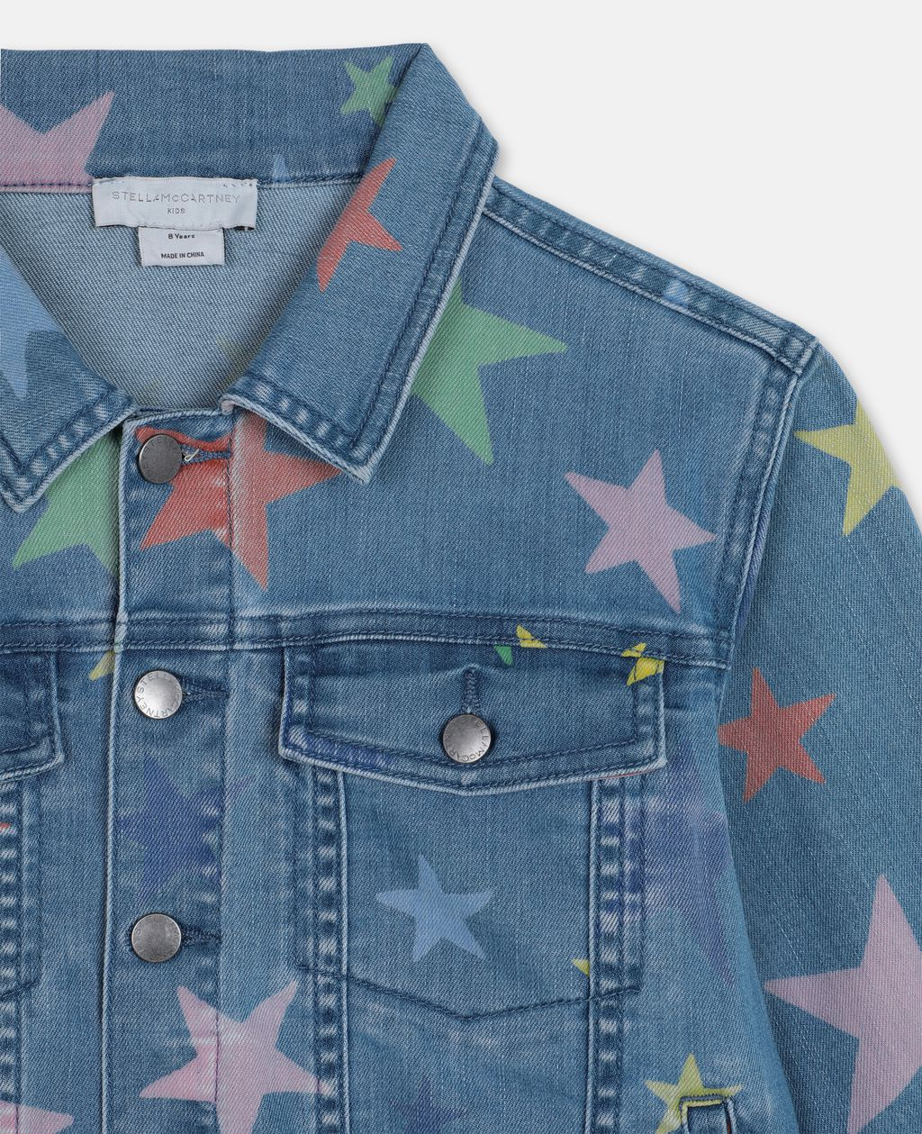GIACCHETTO IN JEANS STARS